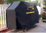 Southern Miss Grill Cover with Golden Eagles Logo on Black Vinyl