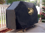 Military Academy Grill Cover with Black Knights Logo on Black Vinyl