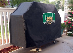 Ohio Grill Cover with Bobcats Logo on Black Vinyl
