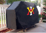 Virginia Military Institute Grill Cover with Military Logo on Vinyl