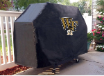 Wake Forest Grill Cover with Demon Deacons Logo on Black Vinyl