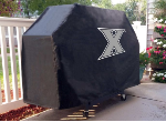 Xavier Grill Cover with Musketeers Logo on Black Vinyl