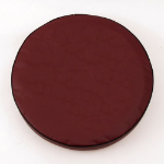 Burgundy Tire Cover for Jeep and RV - Plain Vinyl