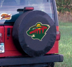 Minnesota Tire Cover with Wild Logo