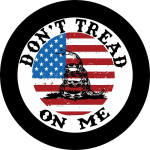 Sons of Liberty Don't Tread on Me Spare Tire Cover