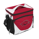 University of Arkansas 24-Can Cooler w/ Officially Licensed Team Logo