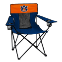 Auburn Tigers Elite Canvas Chair w/ Officially Licensed Team Logo