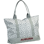 Auburn University Ikat Tote w/ Officially Licensed Team Logo