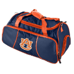 Auburn University Athletic Duffel Bag w/ Officially Licensed Team Logo
