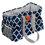 Auburn University Quatrefoil Jr Caddy w/ Officially Licensed Logo