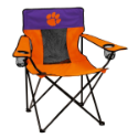 Clemson Tigers Elite Canvas Chair w/ Officially Licensed Team Logo