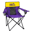 East Carolina Pirates Elite Canvas Chair w/ Officially Licensed Team Logo