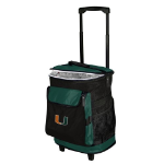 Miami Rolling Cooler w/ Hurricanes Logo - 24 Cans