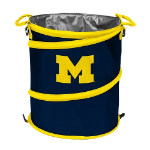 Michigan Wolverines Collapsible 3-in-1 Trash Can/Cooler/Hamper
