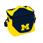 University of Michigan Halftime Lunch Cooler w/ Officially Licensed Team Logo