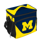 University of Michigan 24-Can Cooler w/ Officially Licensed Team Logo