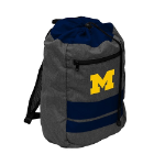 Michigan Wolverines Journey Backsack w/ Officially Licensed Team Logo