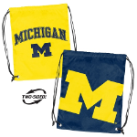 University of Michigan Doubleheader Backsack w/ Officially Licensed Logo