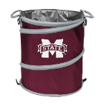 MIssissippi State Bulldogs Collapsible 3-in-1 Trash Can/Cooler/Hamper