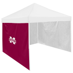 Mississippi State Tent Side Panel w/ Bulldogs Logo - Logo Brand