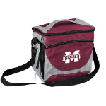 Mississippi State University 24-Can Cooler w/ Officially Licensed Team Logo