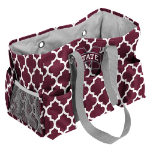Mississippi State University Quatrefoil Jr Caddy w/ Officially Licensed Logo