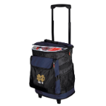 Notre Dame Rolling Cooler w/ Fighting Irish Logo - 24 Cans