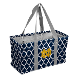 Notre Dame Fighting Irish Quatrefoil Picnic Caddy w/ Officially Licensed Logo