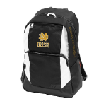 University of Notre Dame Closer Backpack w/ Officially Licensed Team Logo