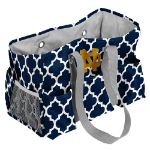 University of Notre Dame Quatrefoil Jr Caddy w/ Officially Licensed Logo