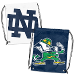 University of Notre Dame Doubleheader Backsack w/ Officially Licensed Logo