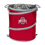 Ohio State Buckeyes Collapsible 3-in-1 Trash Can/Cooler/Hamper