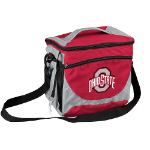 Ohio State University 24-Can Cooler w/ Officially Licensed Team Logo
