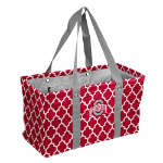 Ohio State Buckeyes Quatrefoil Picnic Caddy w/ Officially Licensed Logo