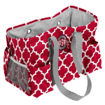 Ohio State University Quatrefoil Jr Caddy w/ Officially Licensed Logo