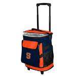 Syracuse Rolling Cooler w/ Orange Logo - 24 Cans