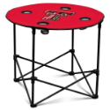 Texas Tech University Round Table w/ Officially Licensed Team Logo