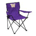 Washington Huskies Quad Canvas Chair w/ Officially Licensed Team Logo
