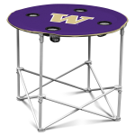 University of Washington Round Table w/ Officially Licensed Team Logo