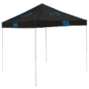 Carolina Tent w/ Panthers Logo - 9 x 9 Solid Color Canopy