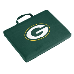 Green Bay Packers Bleacher Cushion w/ Officially Licensed Team Logo
