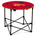 Kansas City Chiefs Round Table w/ Officially Licensed Team Logo