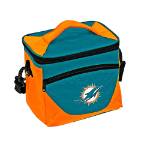 Miami Dolphins Halftime Lunch Cooler w/ Officially Licensed Team Logo
