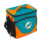 Miami Dolphins 24-Can Cooler w/ Officially Licensed Team Logo