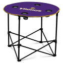 Minnesota Vikings Round Table w/ Officially Licensed Team Logo