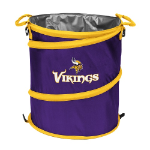 Minnesota Vikings Collapsible 3-in-1 Trash Can/Cooler/Hamper