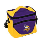 Minnesota Vikings Halftime Lunch Cooler w/ Officially Licensed Team Logo