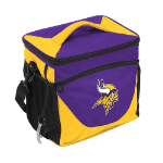 Minnesota Vikings 24-Can Cooler w/ Officially Licensed Team Logo