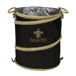 New Orleans Saints Collapsible 3-in-1 Trash Can/Cooler/Hamper