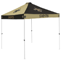New Orleans Tent w/ Saints Logo - 9 x 9 Checkerboard Canopy